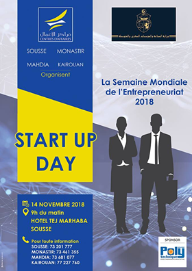 startup day by centres d'affaires